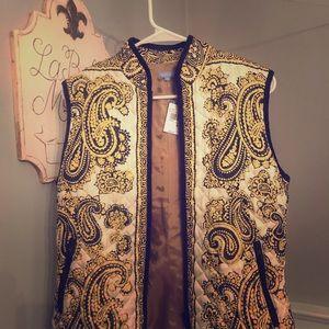 NWT JMcLaughlin Vest size M $185
